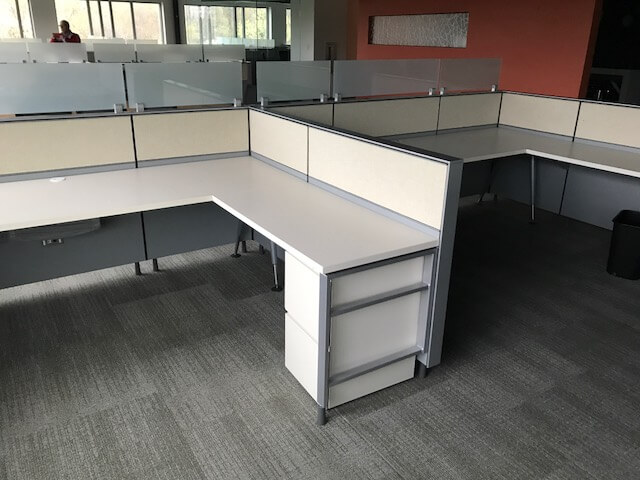 office chair for carpet walmart rolling used herman miller canvas 8x6x42h - low panels cubicles