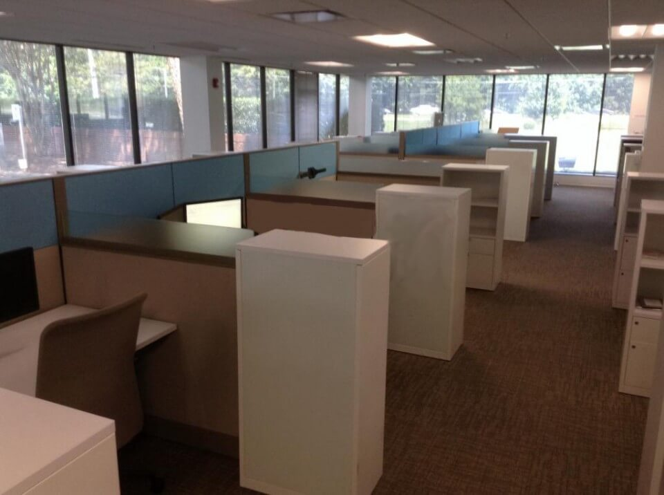 Used Knoll Dividends 7x4  Combo Panels  Used Cubicles