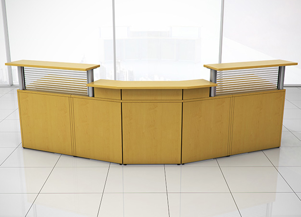 Curved Reception Desk Custom Reception Desk Furniture