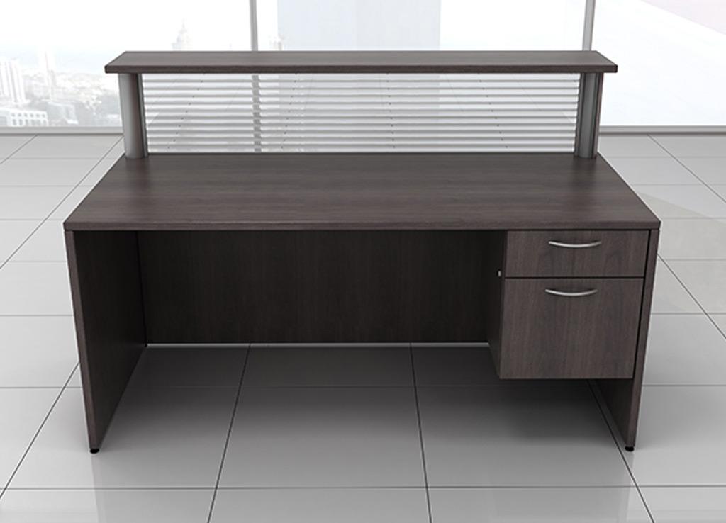 Small Reception Desk  Custom Reception Desk Furniture