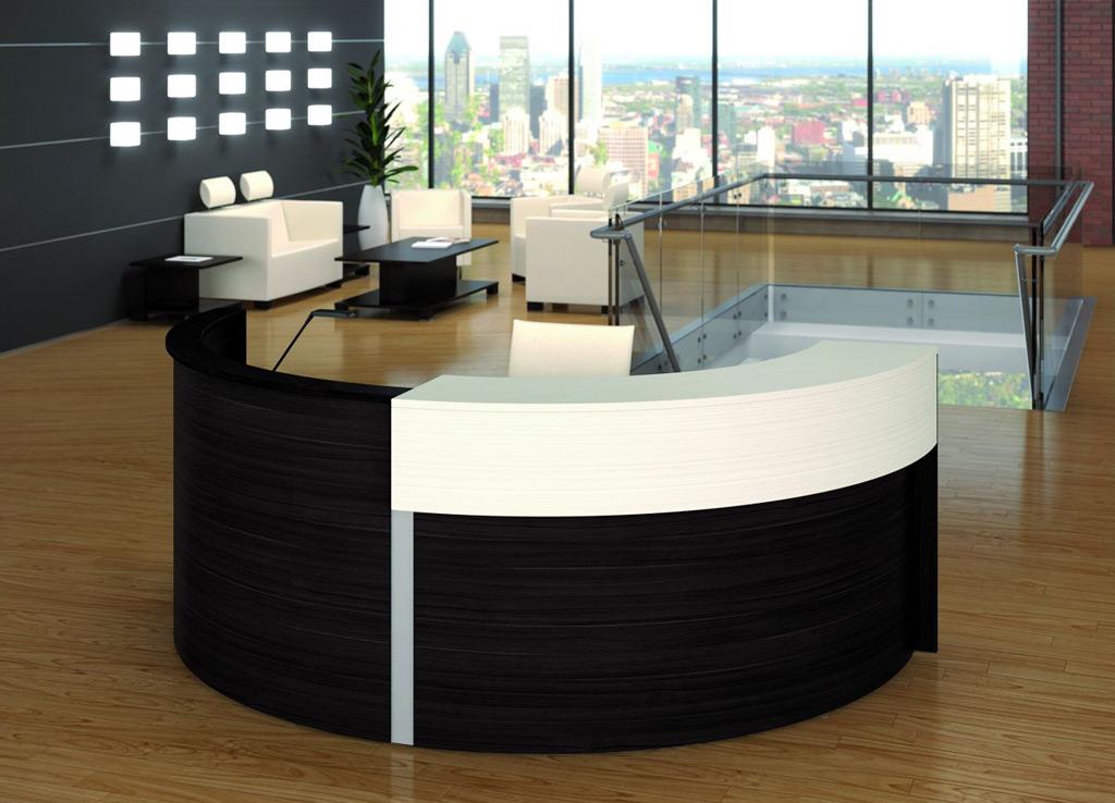 Round Reception Desk  Modern Reception Desk  Reception