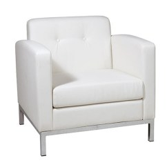 Modern White Leather Club Chair Covers Canada Wholesale Lobby Chairs - Custom Reception Desk Furniture