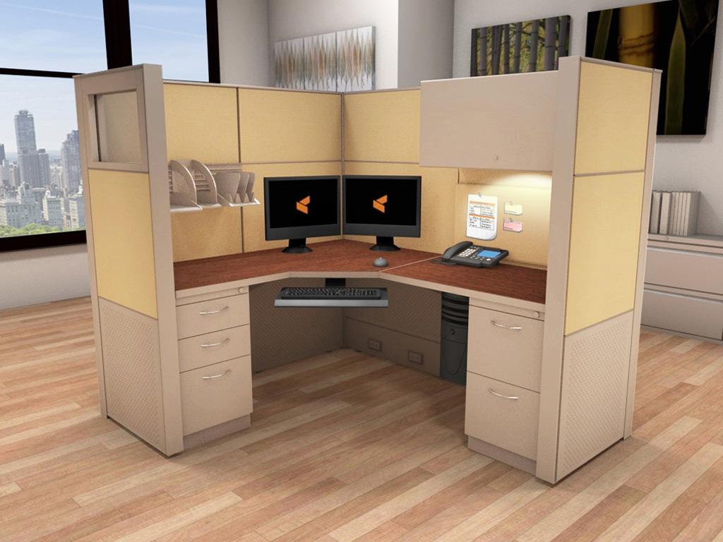 Workstation Desks  5x6 Cubicle Workstations  Cubicle Systems