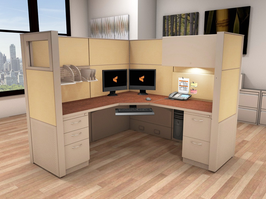 Cubicle Workstation  6x6 Cubicle Workstations  Cubicle