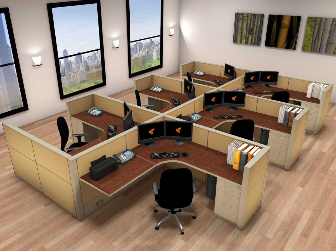chair massage accessories hanging pepperfry office systems furniture - 6x6 cubicle workstations