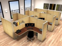 Cubicle Workstation - 6x6 Workstations