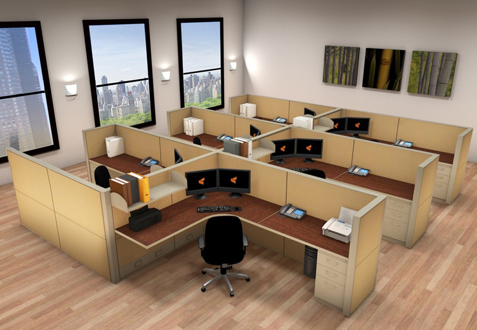 Workstation Office Furniture Cubicle Workstations Cubicle Systems