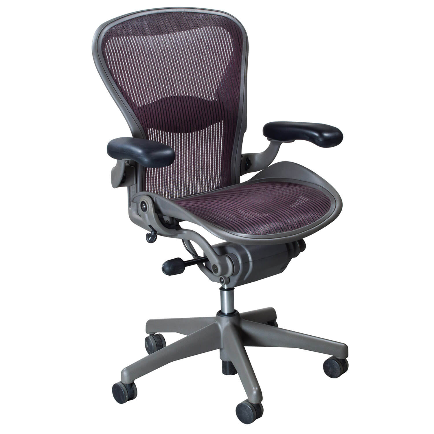 aeron office chairs zero gravity chair uk second hand used