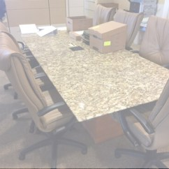 Office Chair Alternatives Dining Slipcovers Ebay Granite Used Conference Room Tables - Furniture For Sale