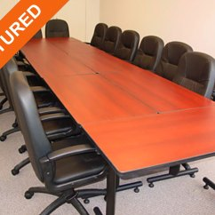 Used Conference Table Chairs Crazy Creek Camp Chair Room Tables Office Furniture For Sale