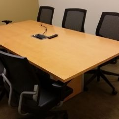Used Desk Chairs Chair Exercises For Legs Teknion Second Hand Office