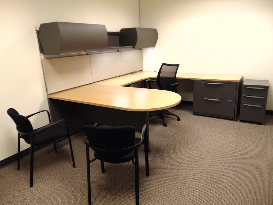 Haworth Furniture  Used Office Desks  Used office
