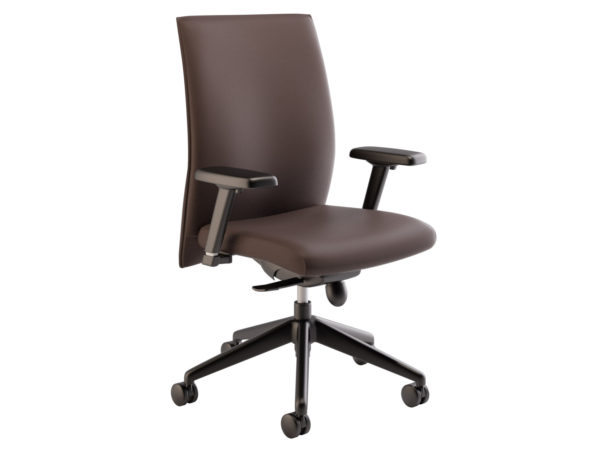 brown office chair without arms bliss covers and unique wedding decorations task chairs for