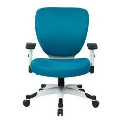 Office Task Chair Big Circle Blue Desk Chairs For