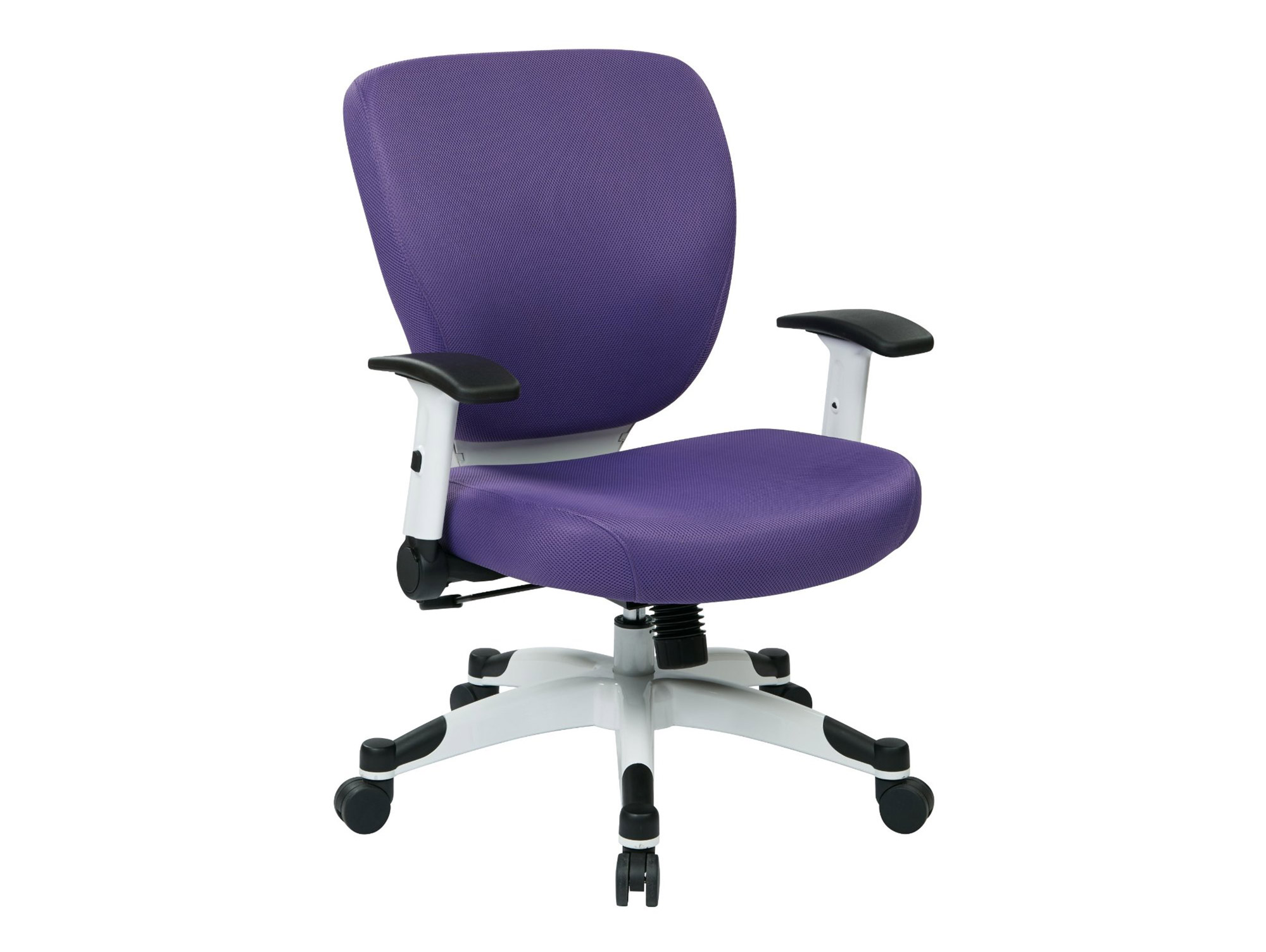 purple task chair wire dining chairs australia blue desk office for