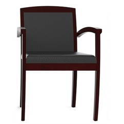 Folding Wood Chairs With Padded Seat Modern Chair Office - Visitor For