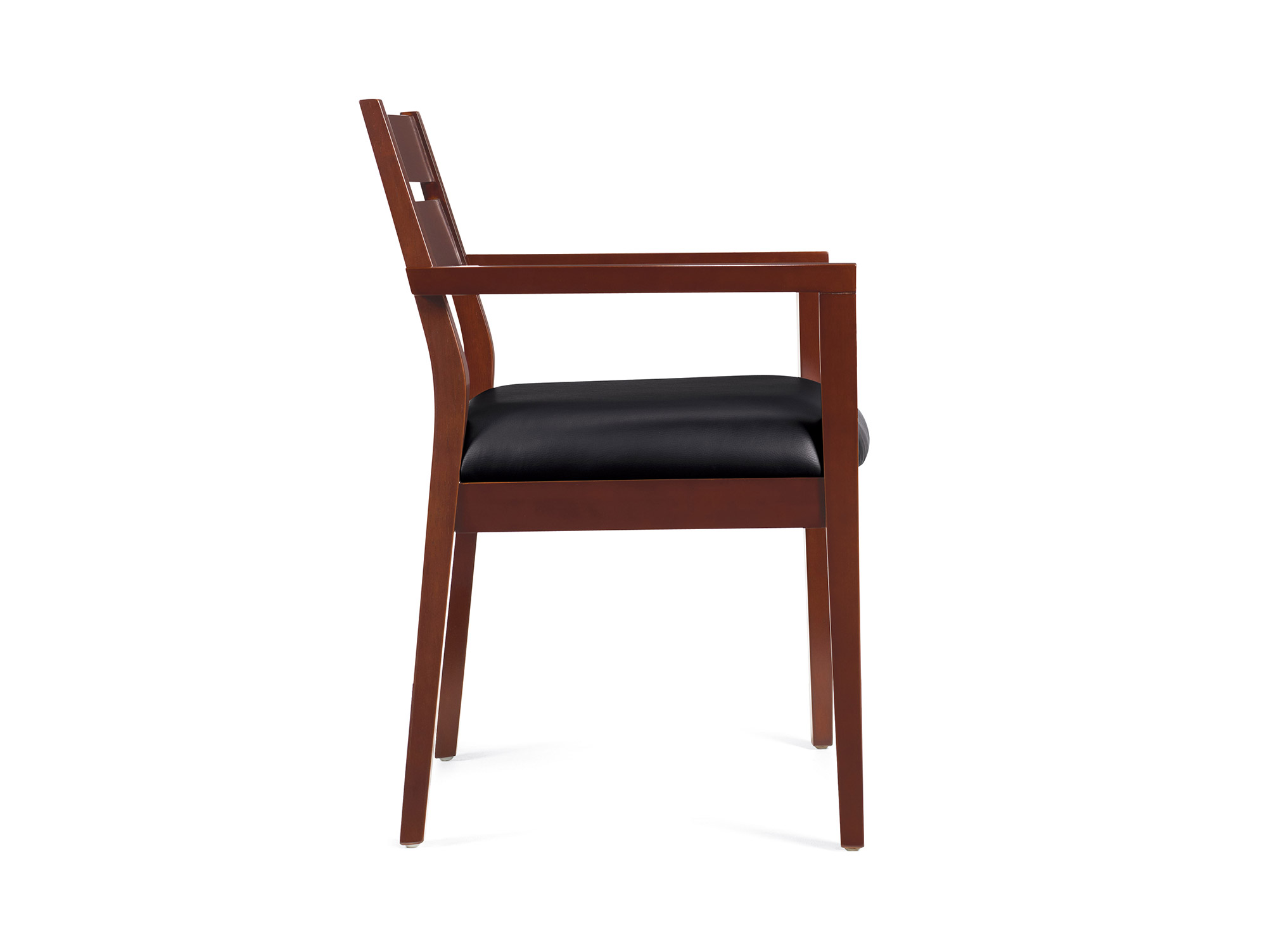 office visitor chairs leather barrel chair wood guest for