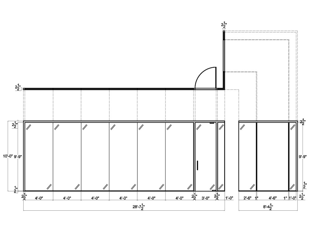medium resolution of glass wall systems from concord 2d schematic