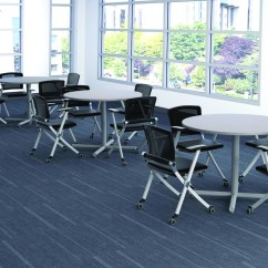 Lunch Room Chairs Folding Arm Cafe And Tables Break Furniture Office