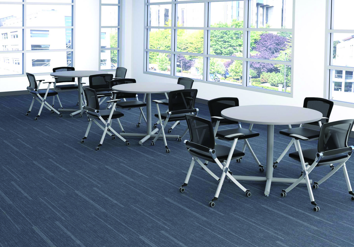 used table and chairs for restaurant use wheelchair travel cafe tables - break room furniture office sets