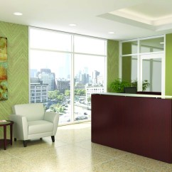 Office Chair Alternatives How Much Is A Salon Reception Design - Area Furniture