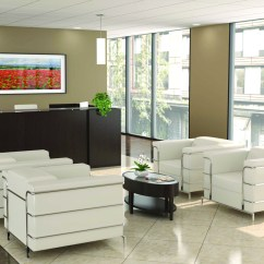 Contemporary Sofa Bed Nailhead Ashley Office Lobby Design - Reception Area Furniture ...