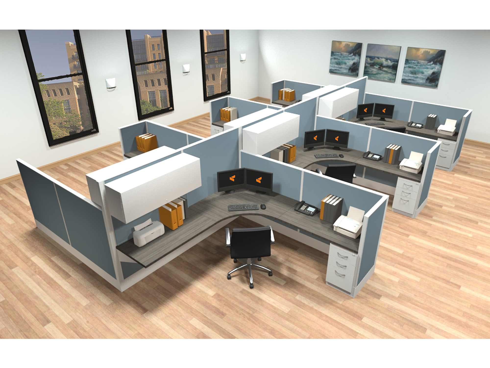 folding dining table with chair storage kitchen chairs on wheels swivel 2 office system furniture - modular workstations ais