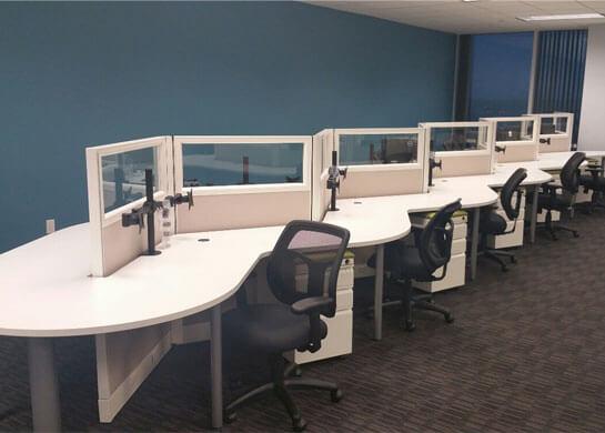 Office Design Furniture Installation in Dallas TX for