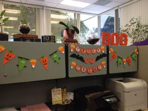 Halloween decoration ideas for offices