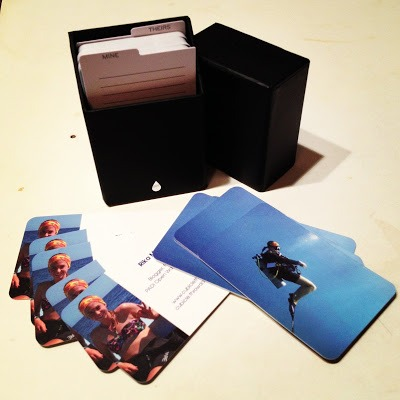 Badass business cards from Moo Printing!