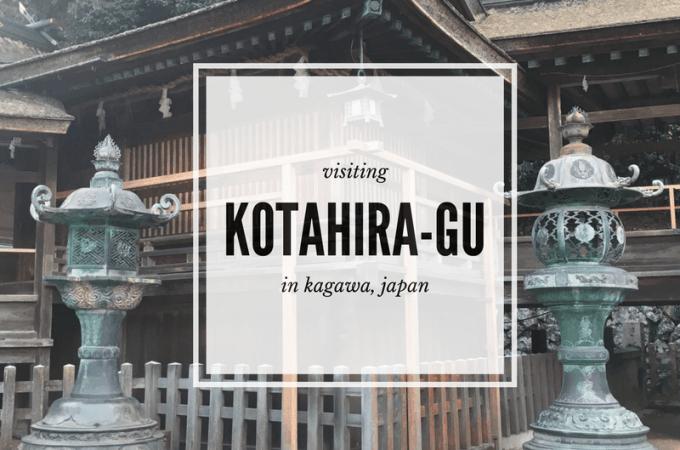 1368 Steps: Visiting Kotohira-gu
