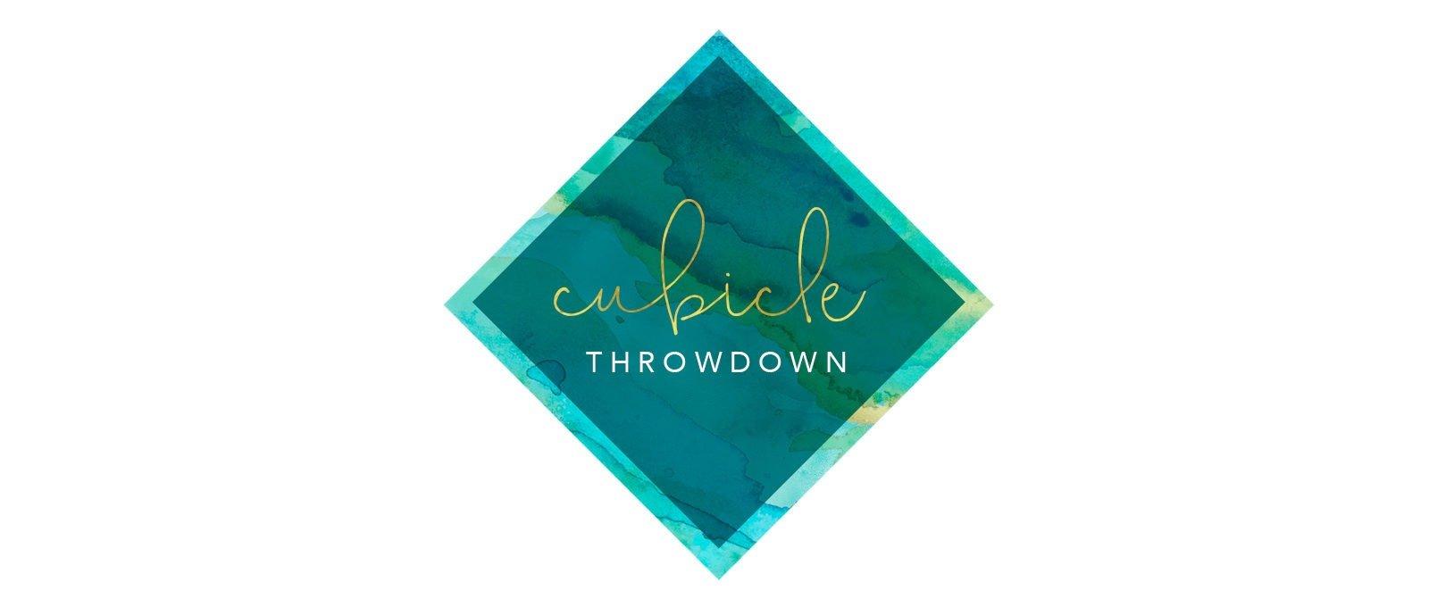 Cubicle Throwdown Logo