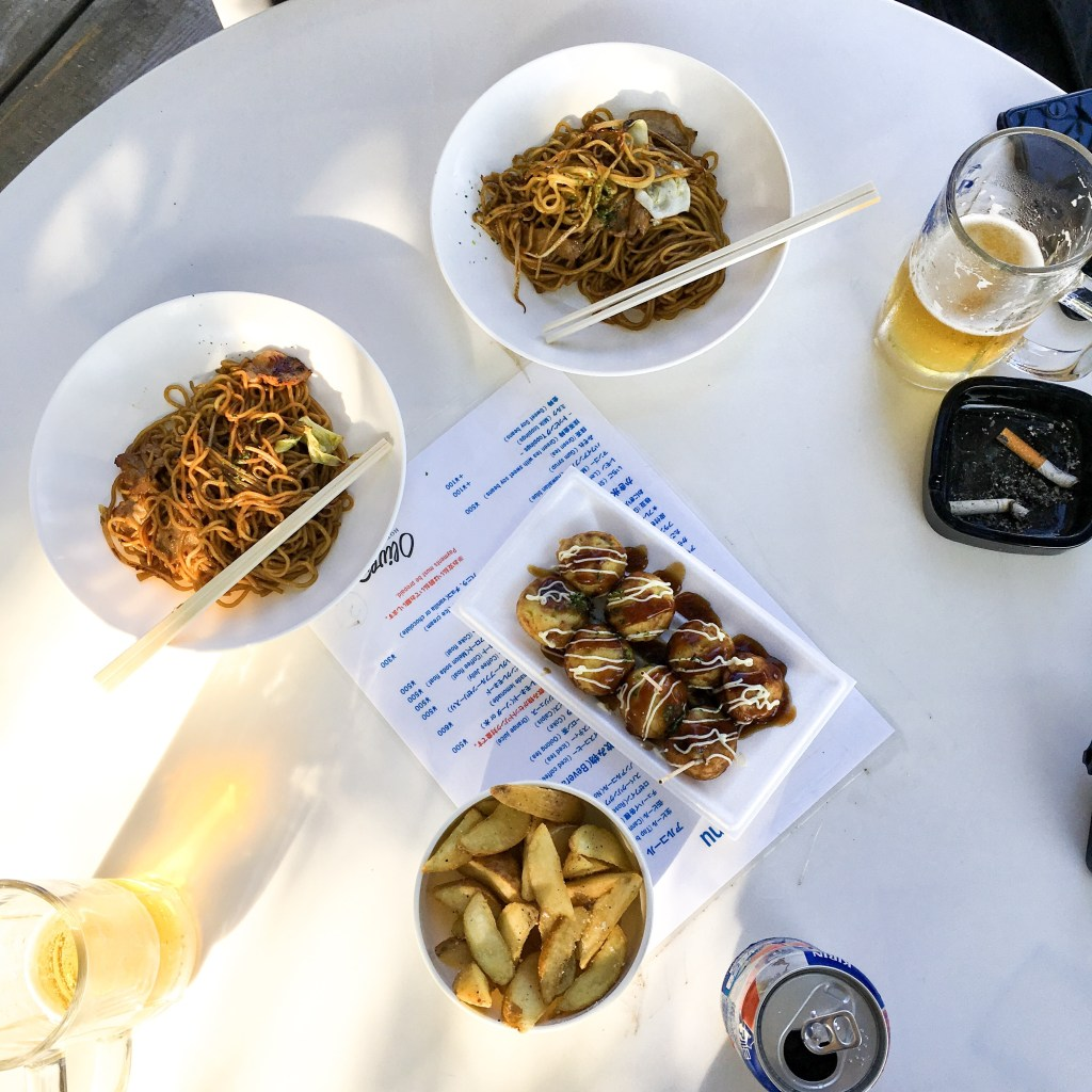 Shodoshima Beach Food