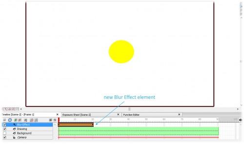 New Blur Effect Element