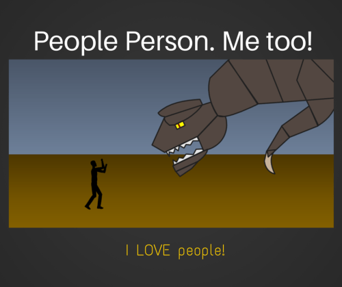 Monster & Person