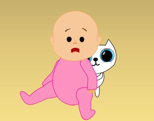 Baby & Kitty