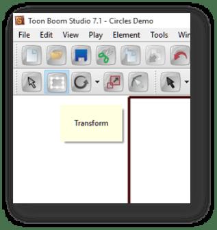 Toon Boom Studio Transform Tool