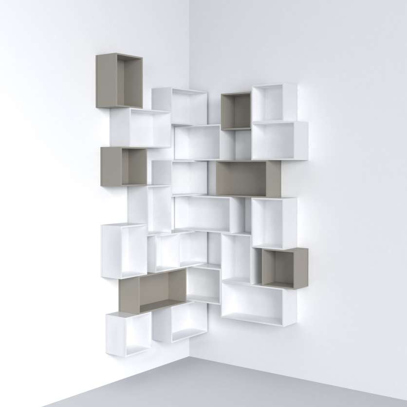 etagere murale cube modulable par cubit