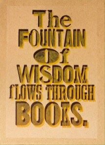 The Fountain of Wisdom 2015t68