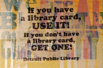 If you have a library card 2015