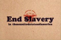 KennedyPrints postcards End Slavery 1