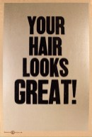 Your hair looks great! 2015