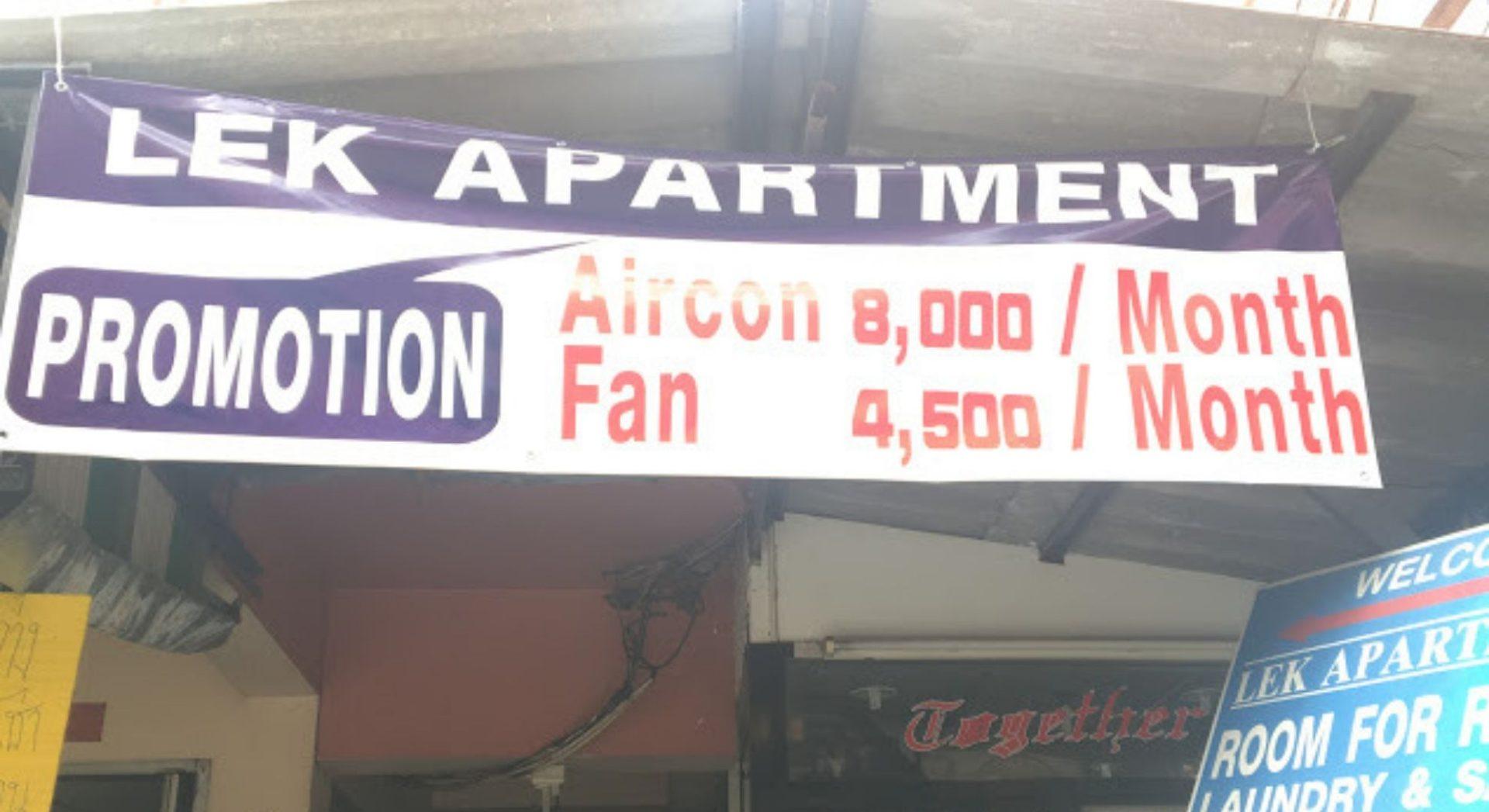 【月5万円生活】パタヤ・ソイブッカオ・LKメトロ目の前の月4500B(15750円)のアパートメントが便利で良さそうなので紹介。