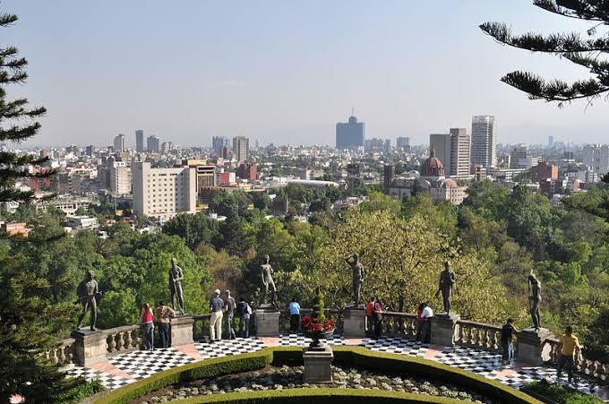 Castillo de Chapultepec atractivo turistico del estado de Mexico