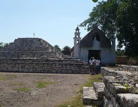 X'cambó atractivo arqueologico de yucatan