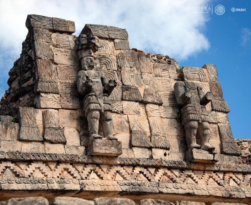zona arqueolgica de kabah sitio turistico de yucatan
