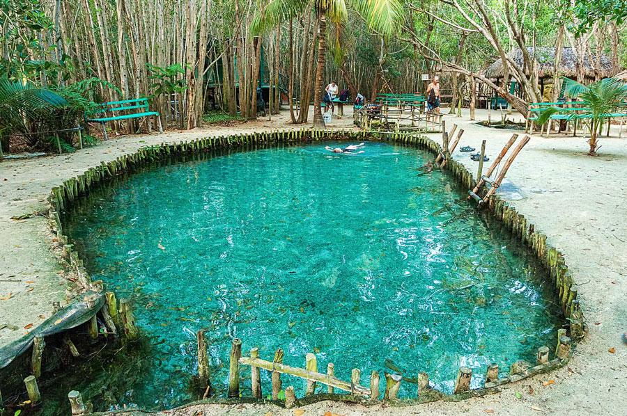 Cenote Corchito atractivos turisticos de yucatan