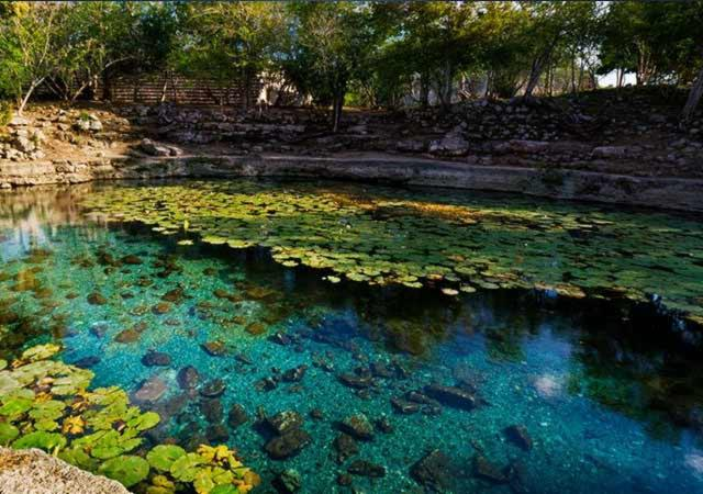Cenote Xlacah yucatan
