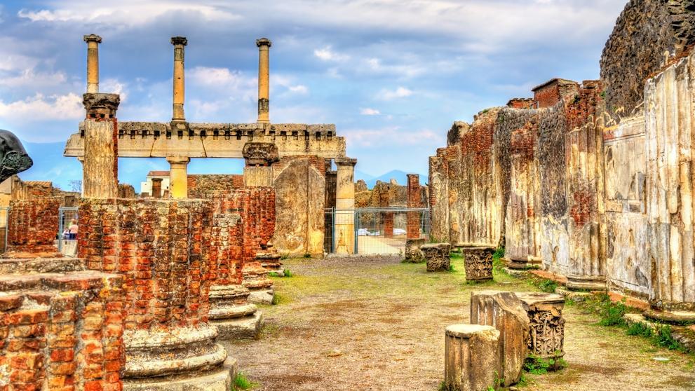 Pompeya italia atractivo turistico