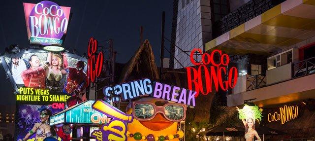 Coco bongo y The city